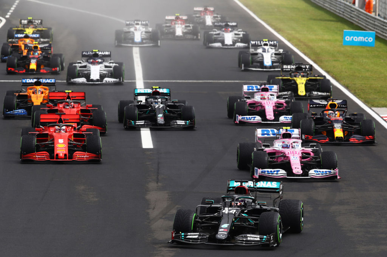 F1ハンガリーGP 決勝:ハミルトン優勝、フェルスタッペンが2位表彰台