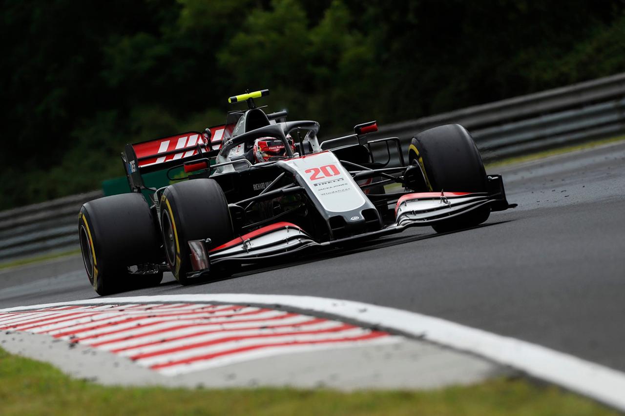 ハースF1、フォーメーションラップ中の援助による違反で2台が降格 / F1ハンガリーGP 決勝