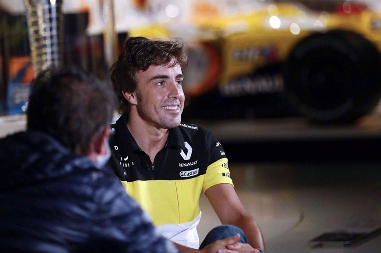 フェルナンド・アロンソ 「来年ルノーF1が上位を争えないのは承知の上」