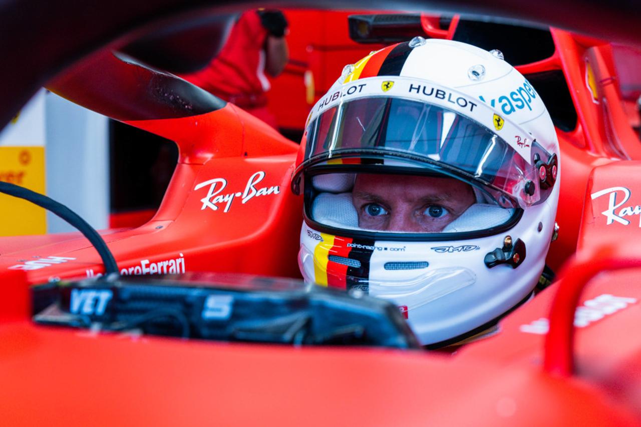 ベッテルがピンクメルセデスに乗っていれば今頃表彰台に上がっていた