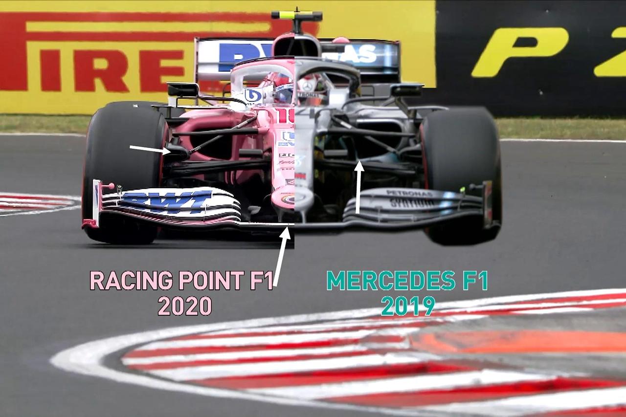 F1:ニコ・ロズベルグ 「メルセデスとレーシング・ポイントは同一マシン」