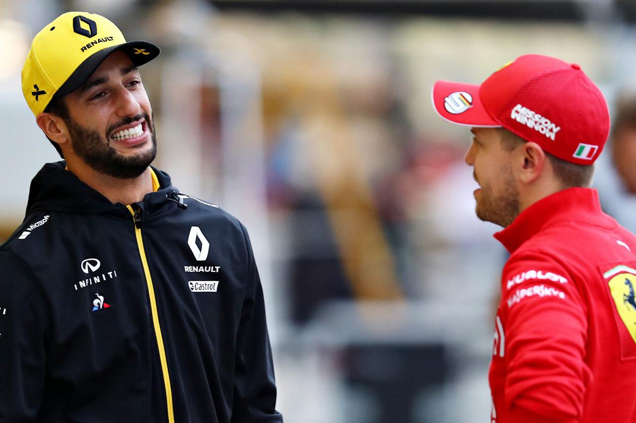 ダニエル・リカルド 「ベッテルにとって中団F1チームは未知の領域」