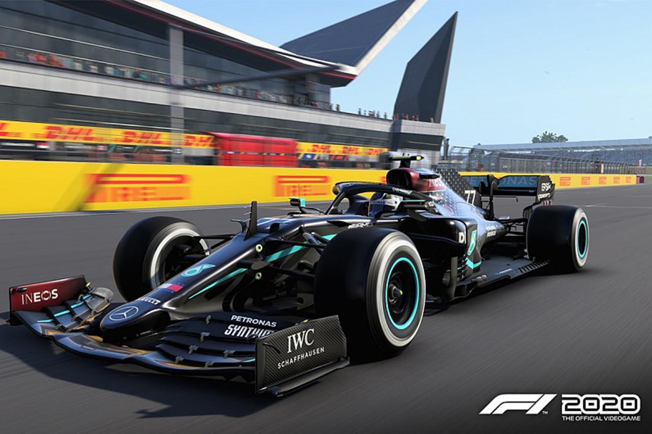 F1公式ゲーム『F1 2020』:メルセデスのマシンをブラックカラーに更新