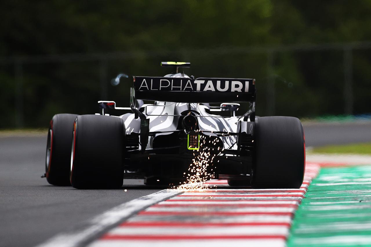 アルファタウリ・ホンダF1もレッドブルと同様に空力バランスに苦戦