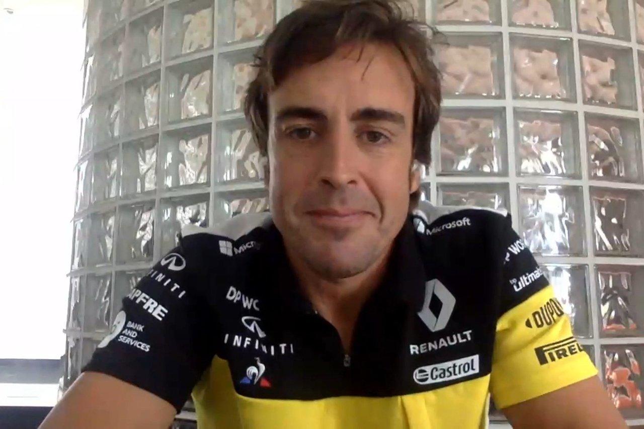 フェルナンド・アロンソ 「10年前の体型とフィットネスを取り戻した」 / ルノーF1