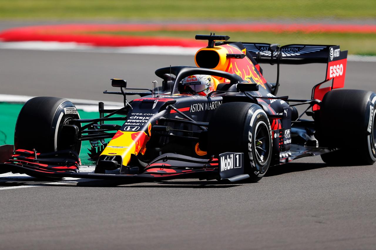 【速報】 F1イギリスGP FP1 結果:マックス・フェルスタッペンが首位