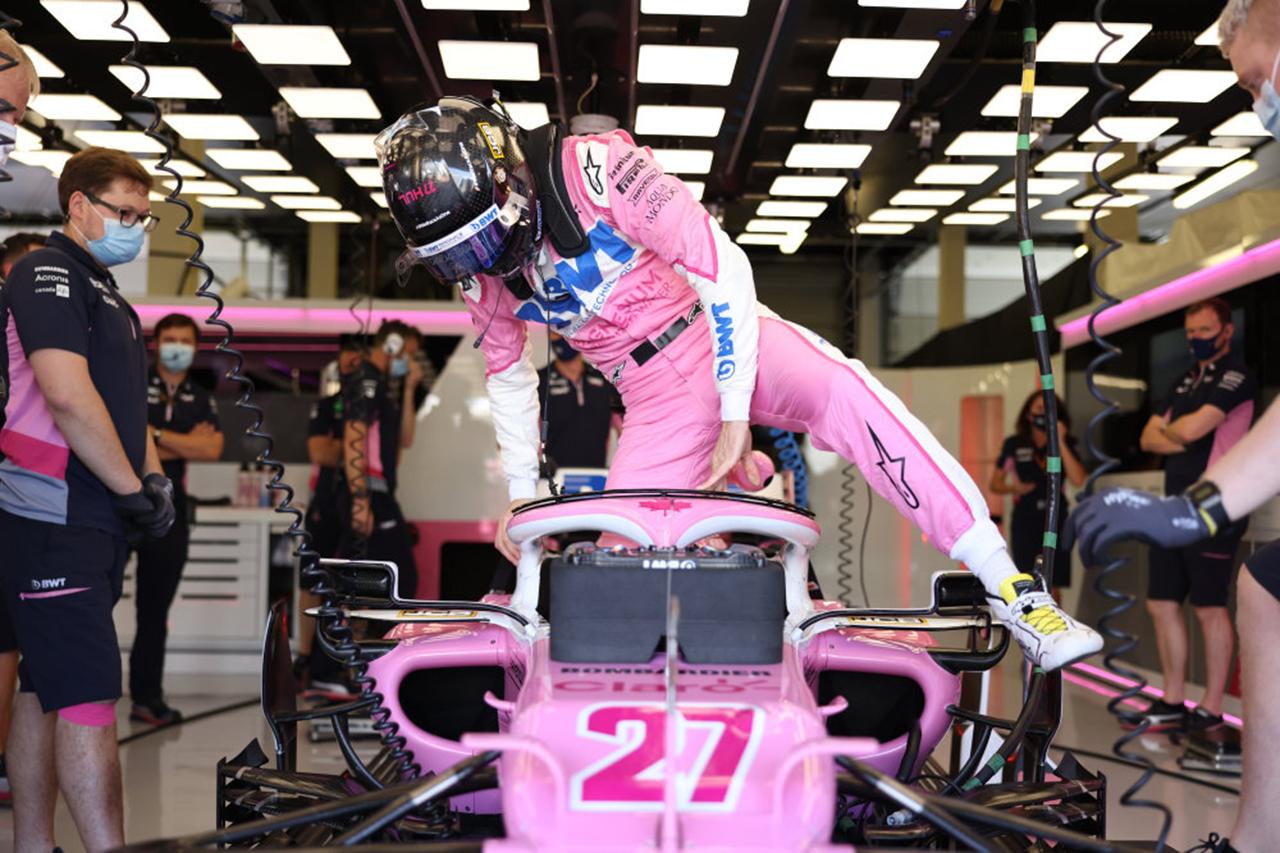レーシング・ポイントF1 「ヒュルケンベルグの走行が確定したのは10分前」