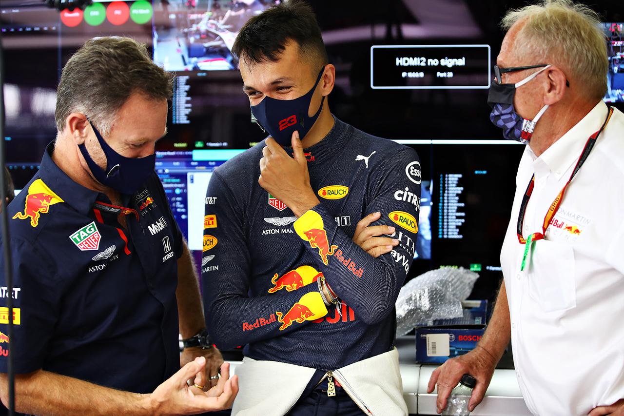 アレクサンダー・アルボン 「チームとして大きな一歩を踏み出せた初日」 / レッドブル・ホンダ F1イギリスGP 初日