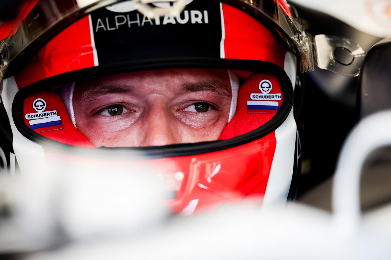 ダニール・クビアト 「マシンのバランスに手応えを感じた」 / アルファタウリ・ホンダ F1イギリスGP 初日