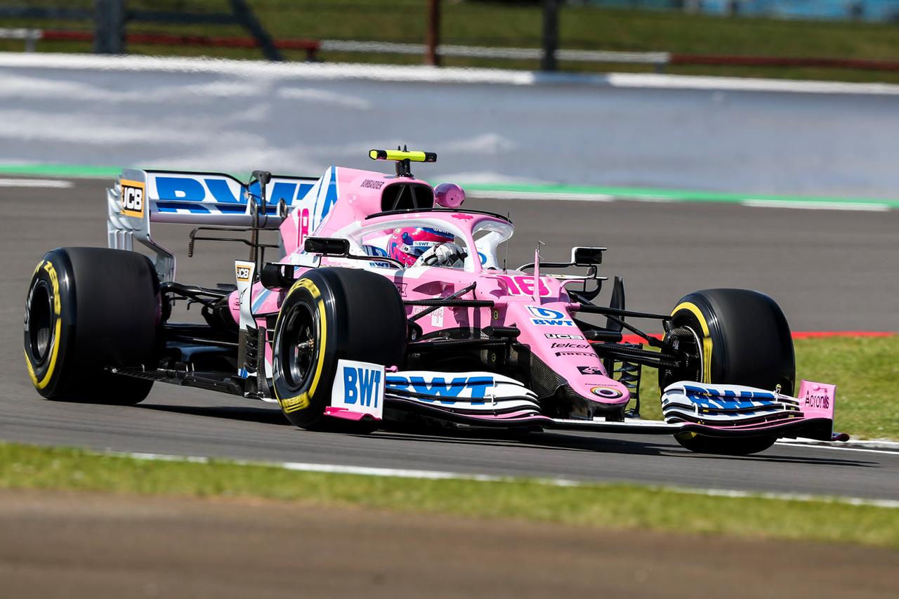 F1イギリスGP フリー走行2回目:レーシングポイントのストロールが首位。レッドブル・ホンダのアルボンが2番手もクラッシュ