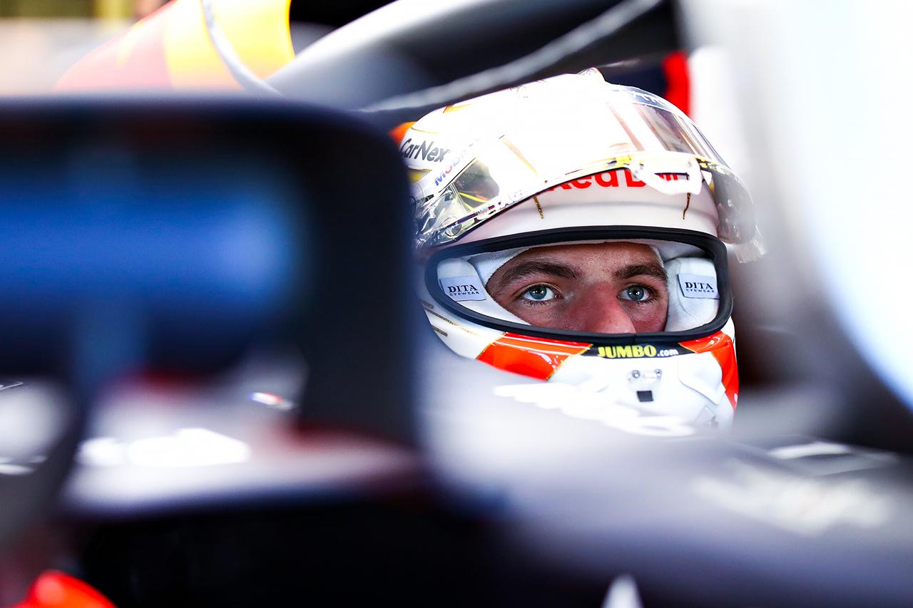 マックス・フェルスタッペン 「改善を重ねた新しいパーツはいい方向に作用」 / レッドブル・ホンダ F1イギリスGP 初日