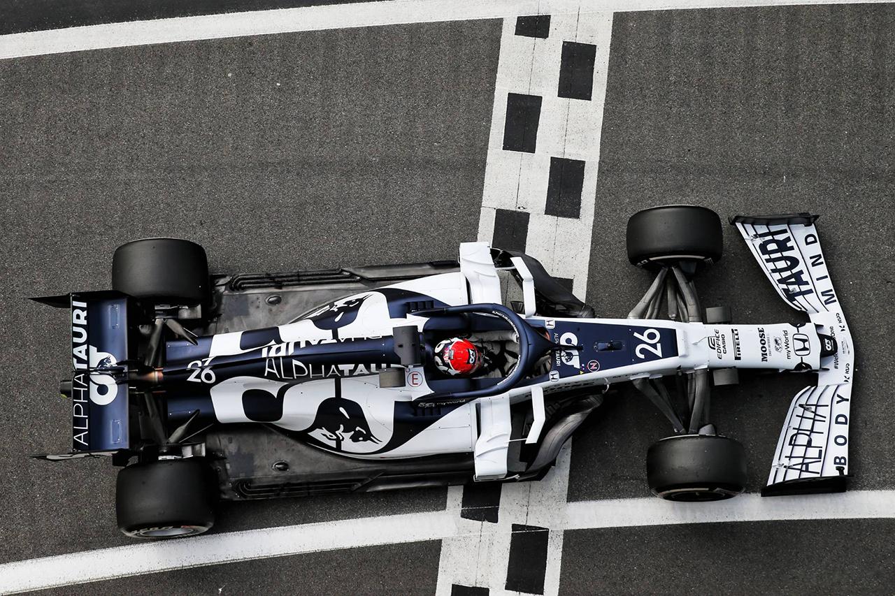 ダニール・クビアト、ギアボックス交換で5グリッド降格 / F1イギリスGP(アルファタウリ・ホンダ)