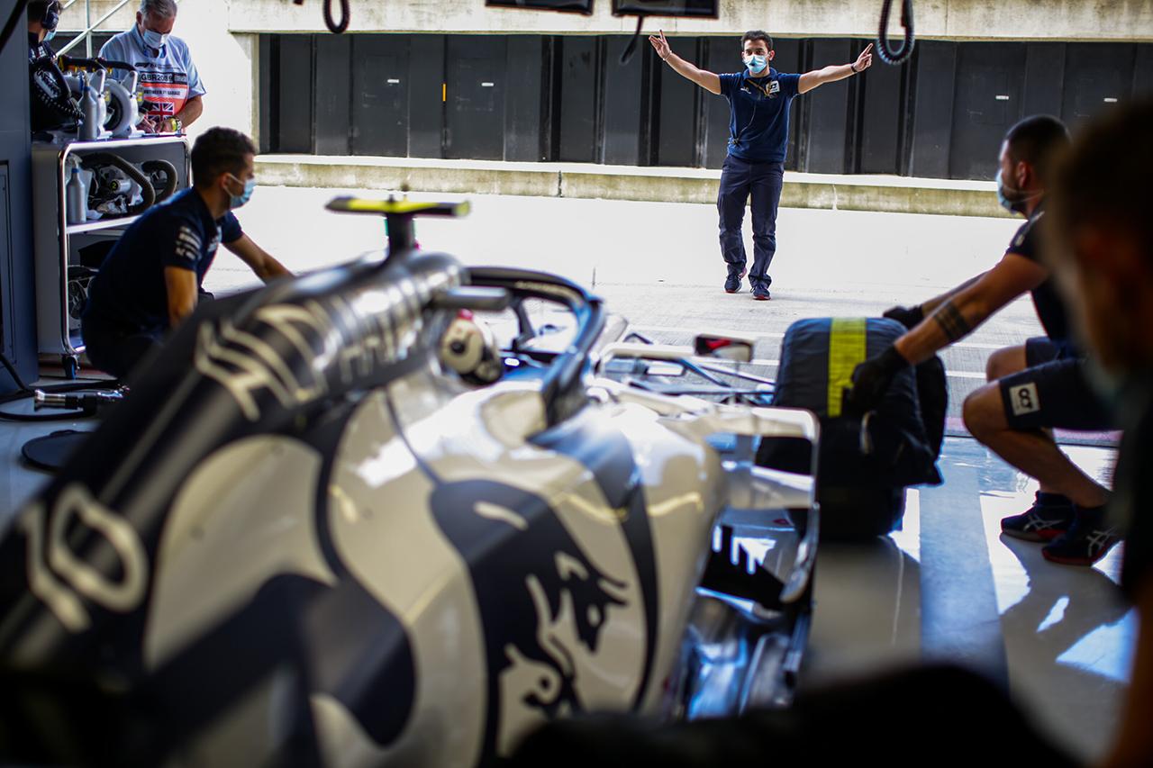 アルファタウリ・ホンダF1 「11番手のガスリーは戦略に特化できる」 / F1イギリスGP 予選