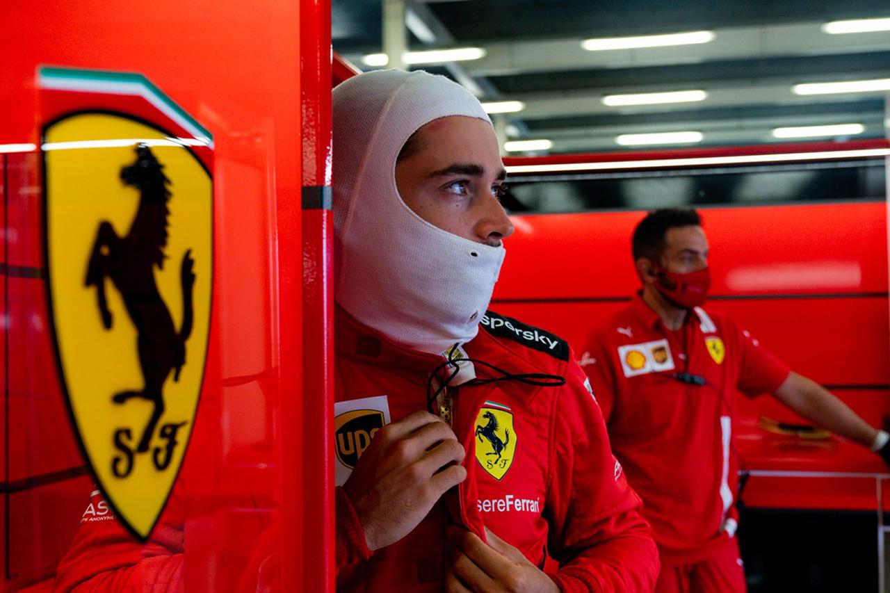 シャルル・ルクレール、期待以上の予選4番手も「レースは厳しいと思う」 / フェラーリ F1イギリスGP 予選