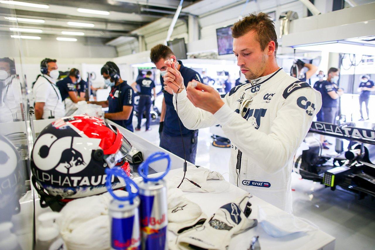 ダニール・クビアト 「気持ちを切り替えてポイントを目指したい」 / アルファタウリ・ホンダ F1イギリスGP 予選