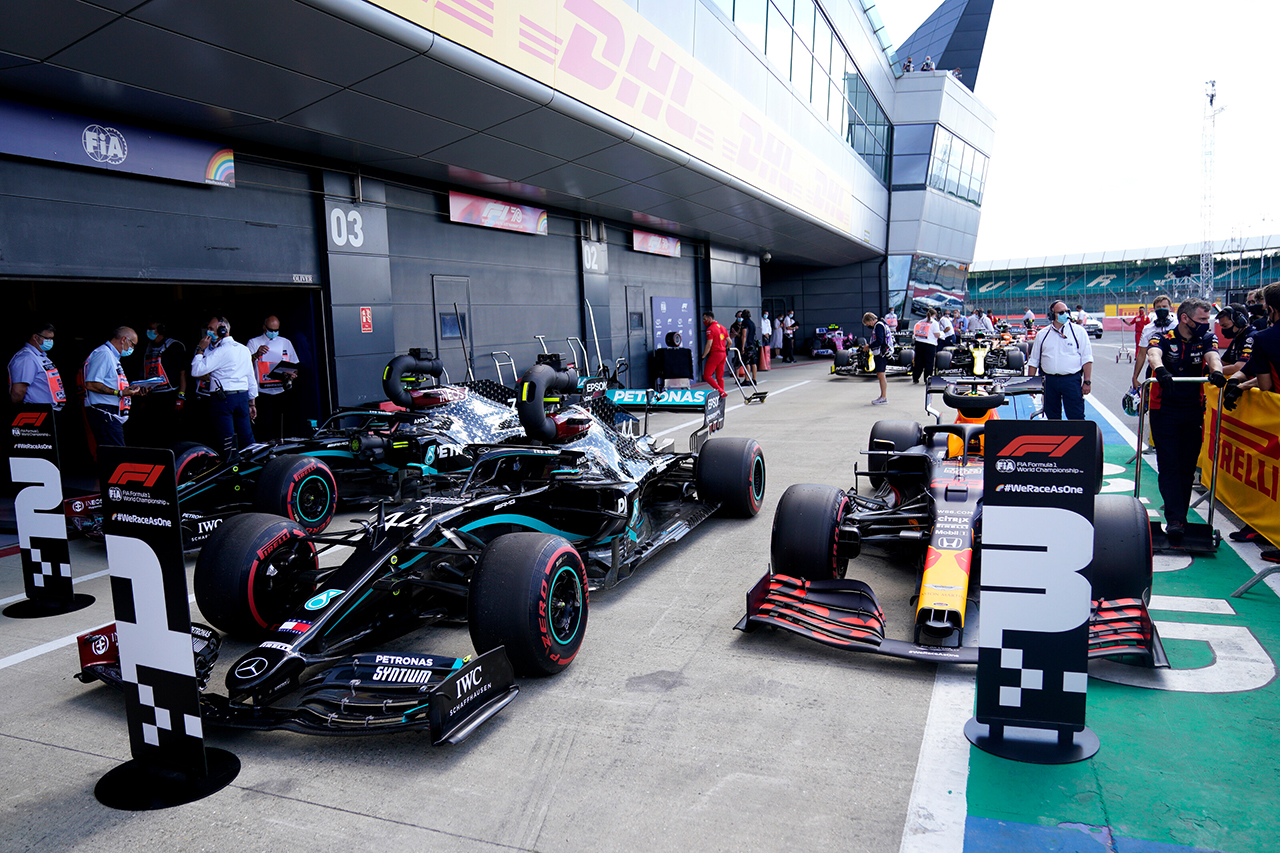 2020年 F1イギリスGP 決勝:暫定スターティンググリッド