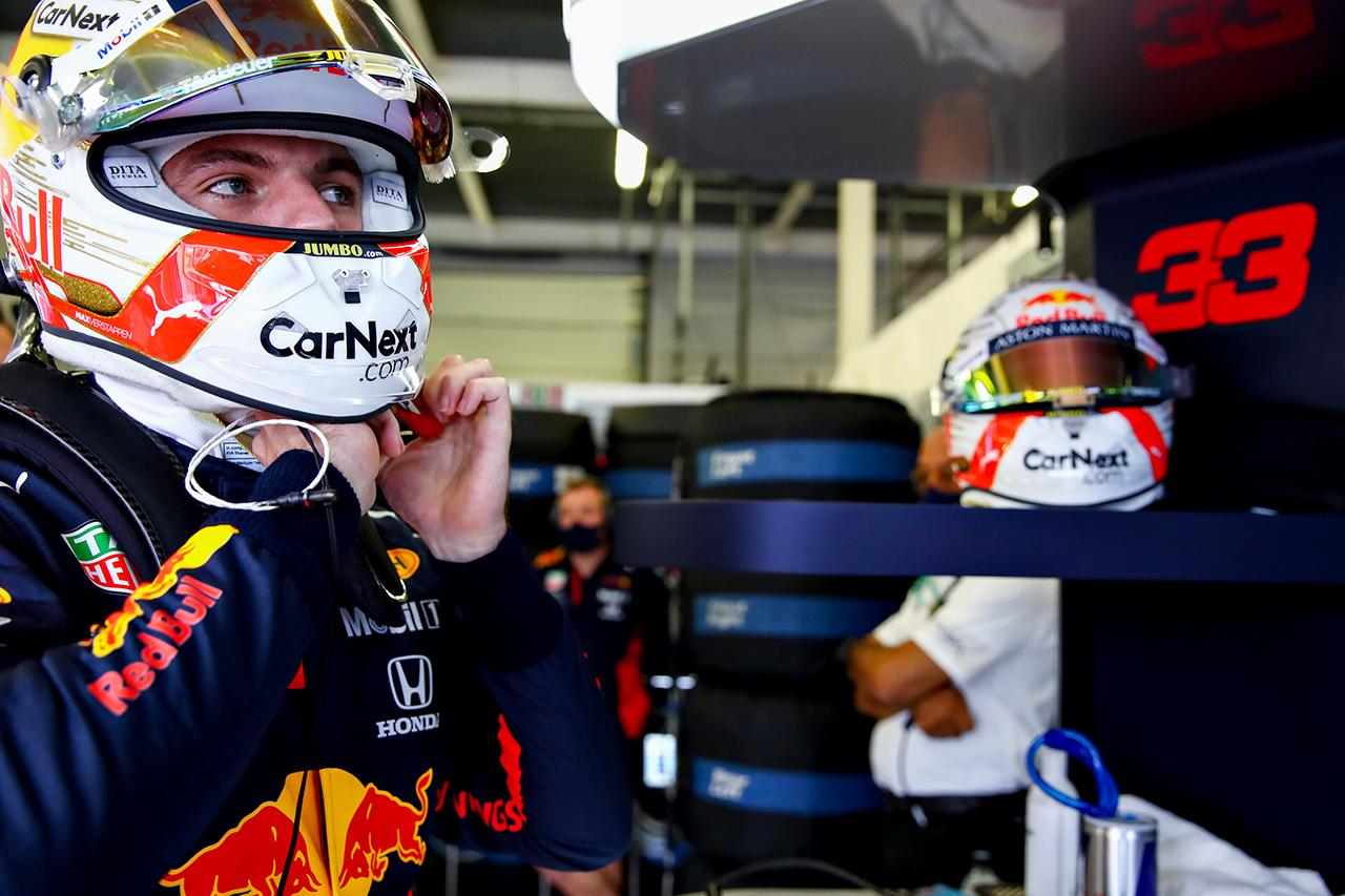 マックス・フェルスタッペン 「表彰台のできるだけ上でフィニッシュしたい」 / レッドブル・ホンダ F1イギリスGP 予選