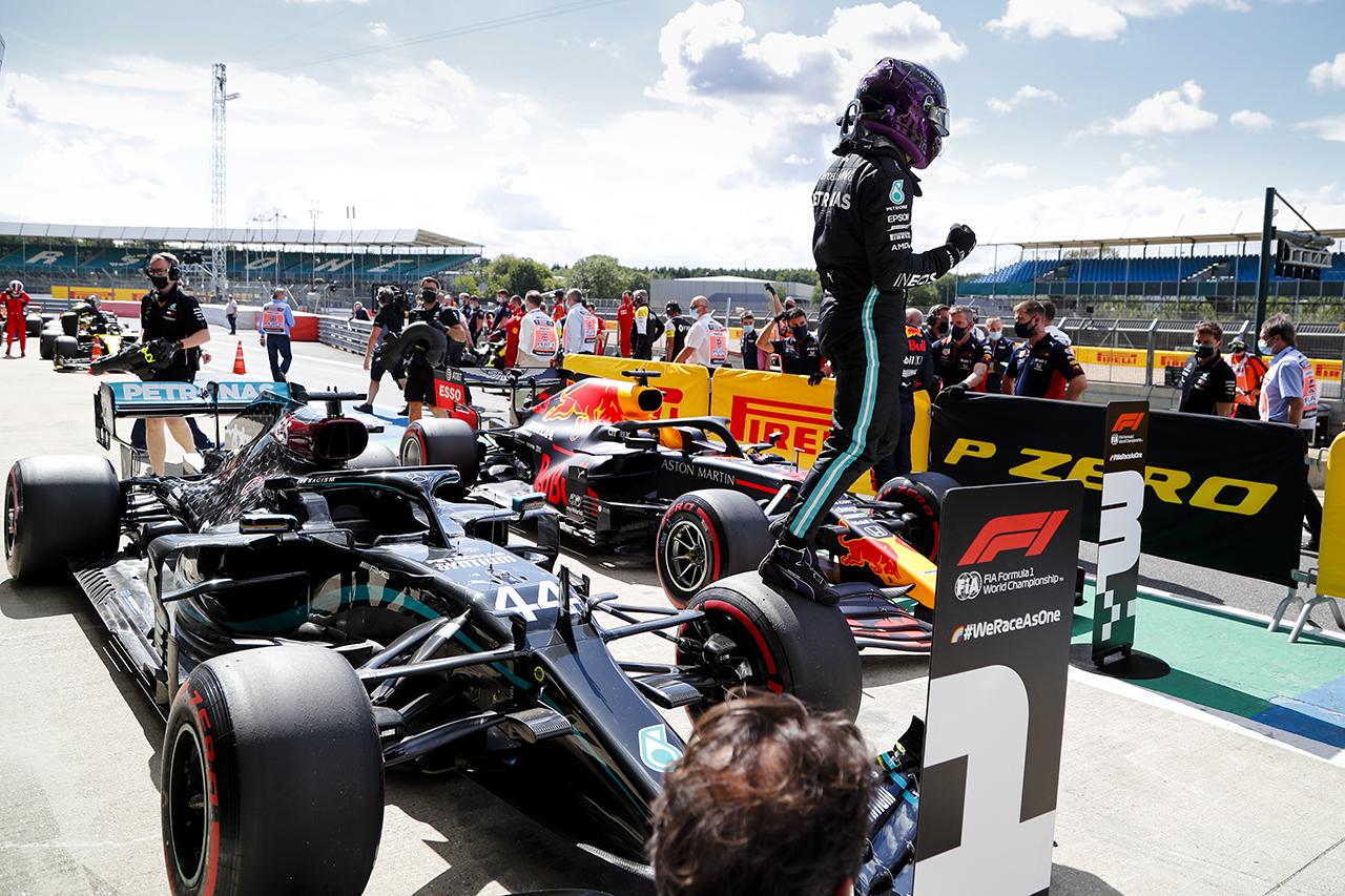 メルセデスF1 「独自のリーグにいた。新しい友達はできそうにない」 / F1イギリスGP 予選