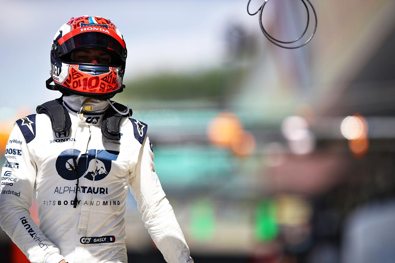 ピエール・ガスリー 「明日は10位以内に入ってポイントを獲得したい」 / アルファタウリ・ホンダ F1イギリスGP 予選