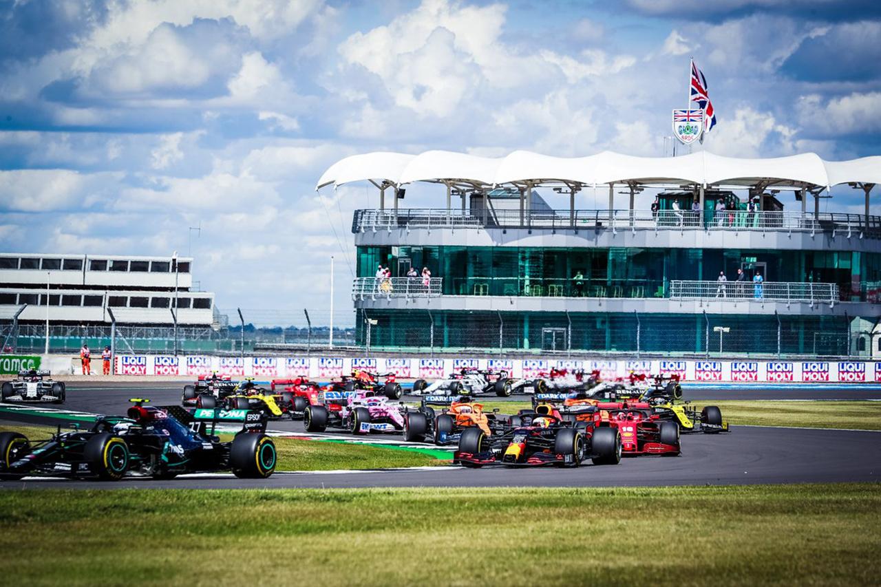 【速報】 F1イギリスGP 決勝 結果:フェルスタッペンが2位表彰台