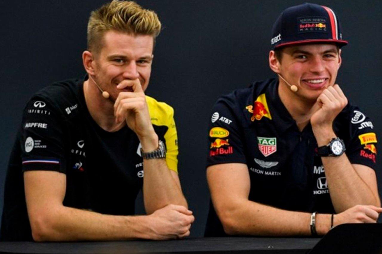 フェルスタッペン 「ヒュルケンベルグは首が長いのでF1に不向き(笑)」 / F1イギリスGP 予選後会見
