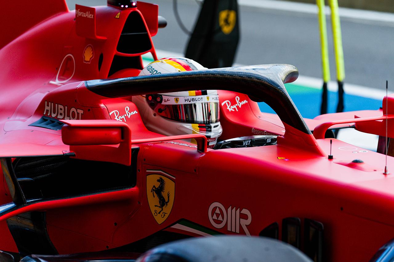 セバスチャン・ベッテル 「今日はマシンが僕に合っていなかった」 / フェラーリ F1イギリスGP 予選