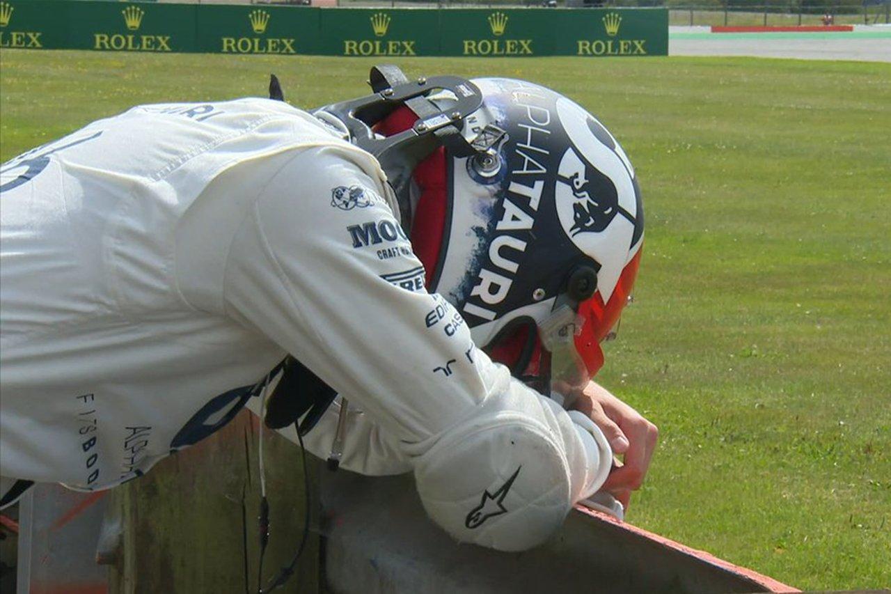 ダニール・クビアト 「僕のコントロールが及ばない範囲で何かが起こった」 / アルファタウリ・ホンダ F1イギリスGP 決勝