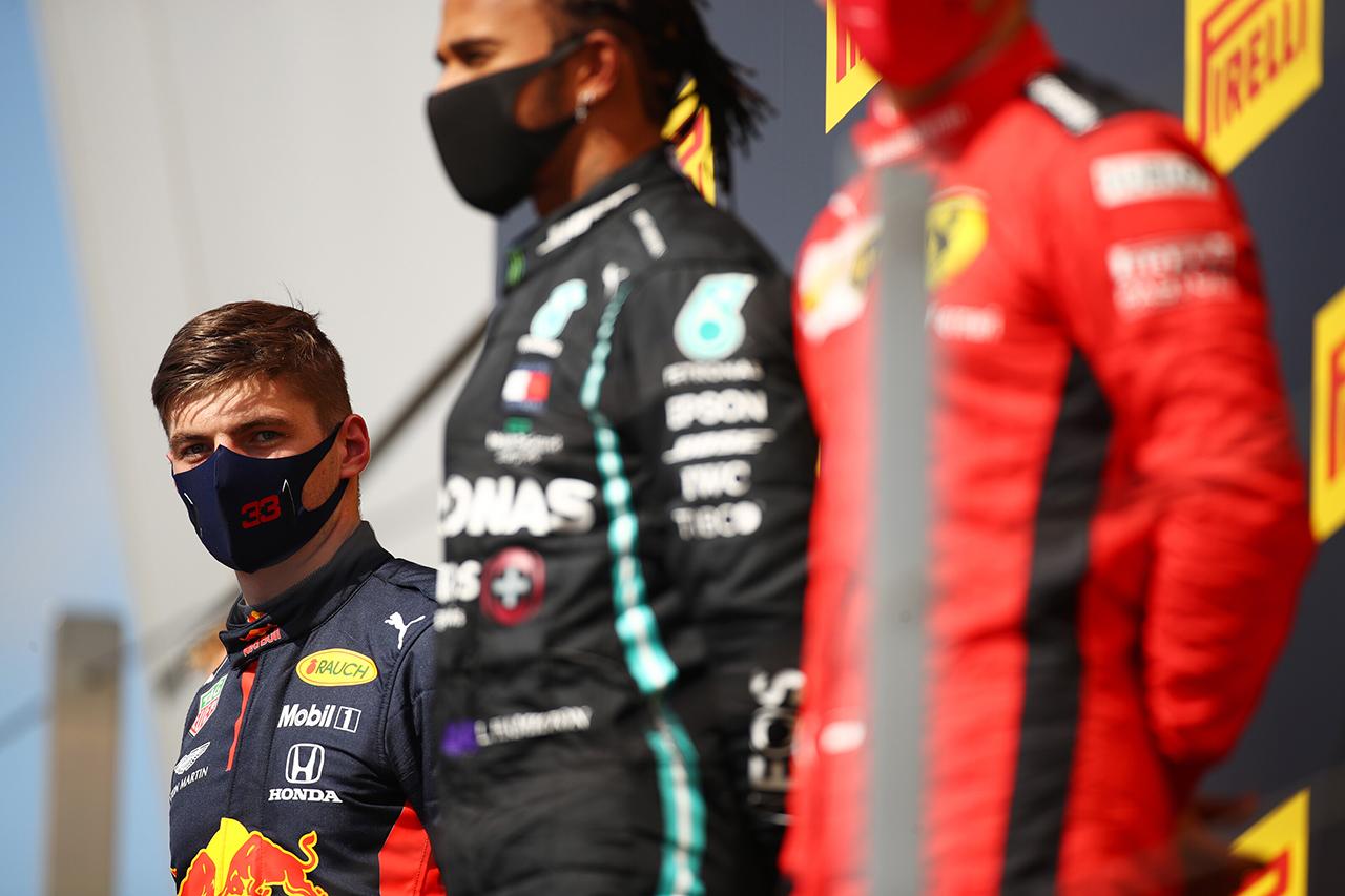 マックス・フェルスタッペン 「メルセデスとの差は冷静に捉えている」 / レッドブル・ホンダ F1イギリスGP 決勝