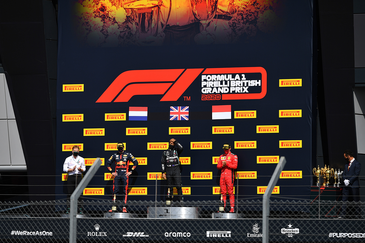 2020年 F1ポイントランキング:ルイス・ハミルトンがリードを拡大