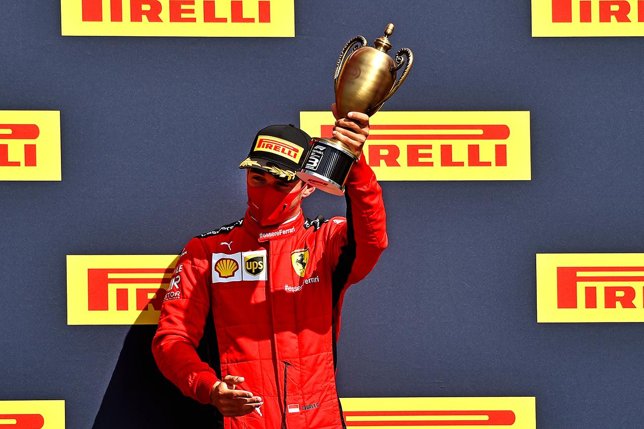 シャルル・ルクレール 「現時点では4位争いが僕たちのマシンの実力」 / フェラーリ F1イギリスGP 結果