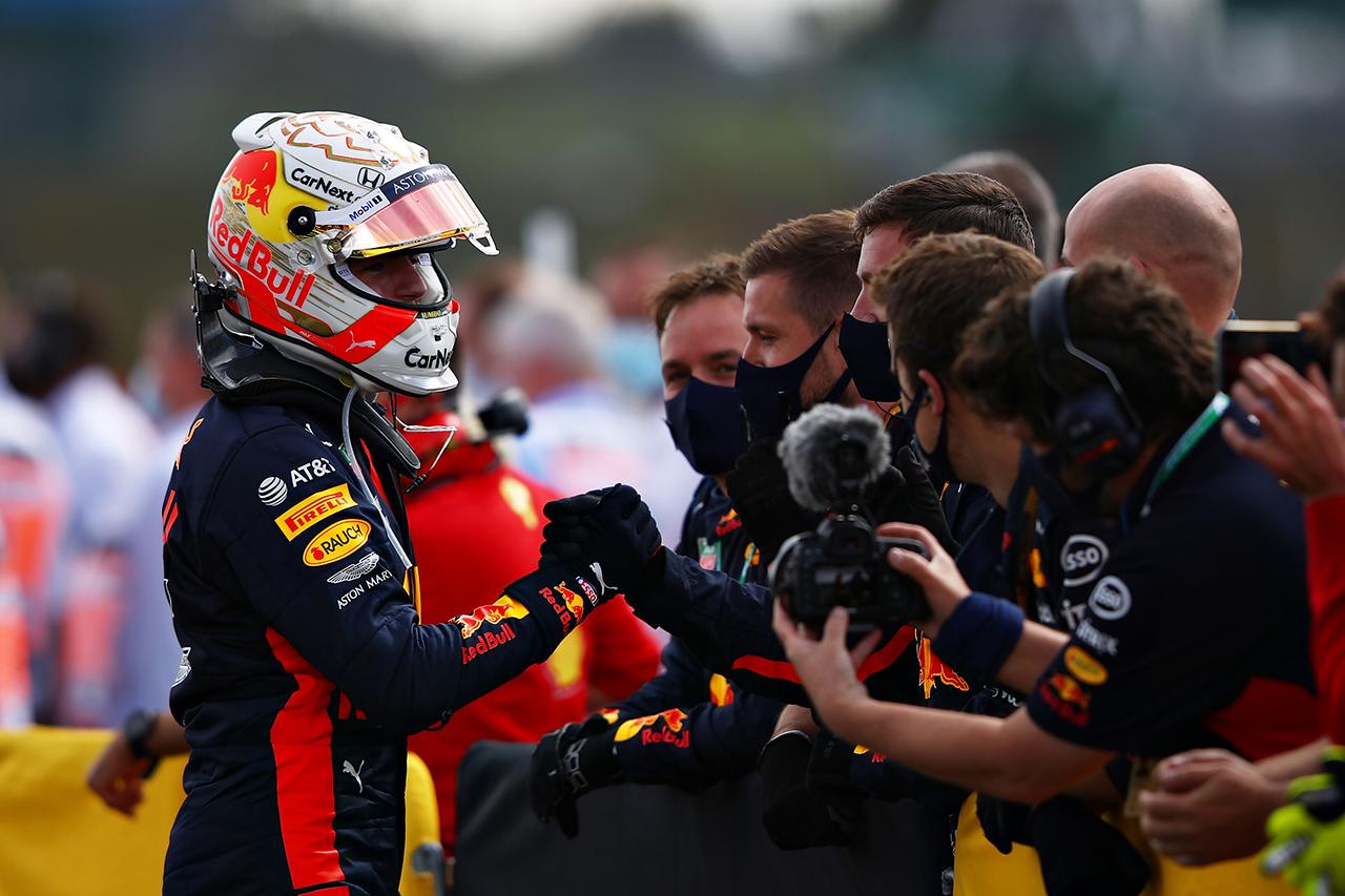 マックス・フェルスタッペン 「かなり孤独なレースだったし、2位に満足」 / レッドブル・ホンダ F1イギリスGP 決勝