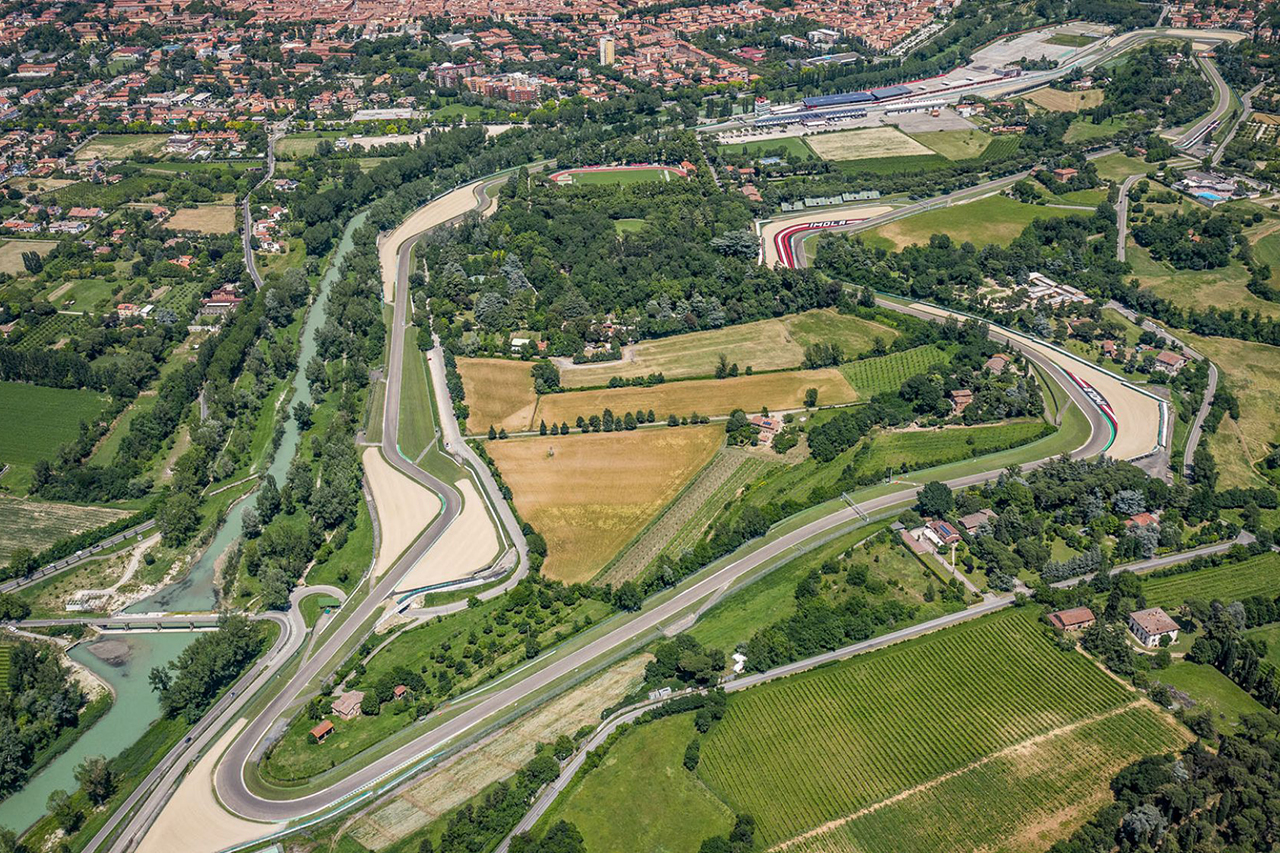 F1エミリア・ロマーニャGP、2デー開催でフリー走行は土曜日の1回のみ / イモラ・サーキット