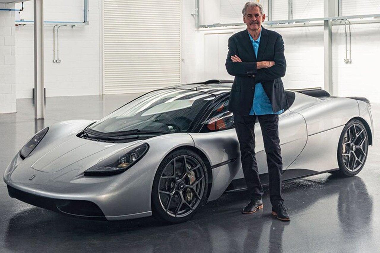 伝説的F1デザイナーのゴードン・マレー、『GMA T.50』を発表