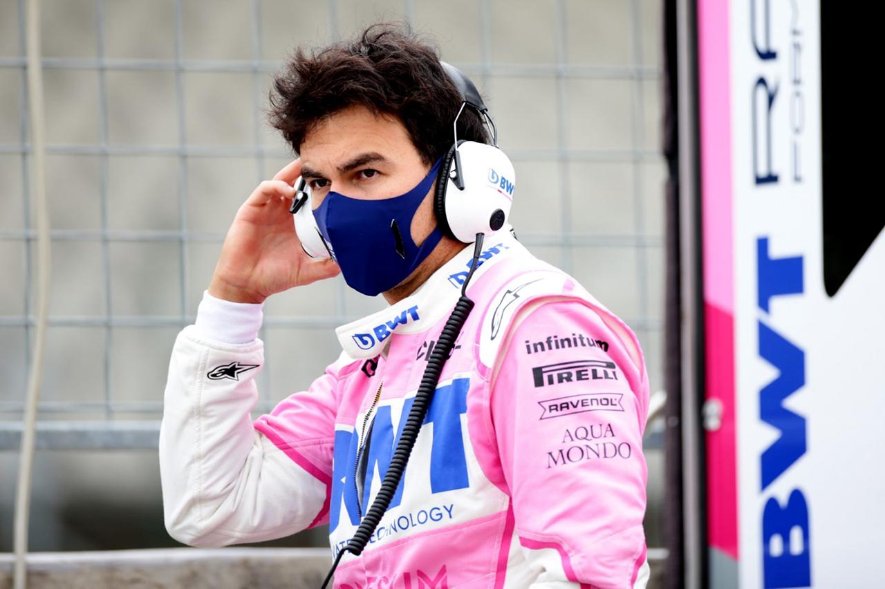 セルジオ・ペレス、新型コロナの隔離期間が完了してレース出場の可能性 / レーシング・ポイントF1 70周年記念GP