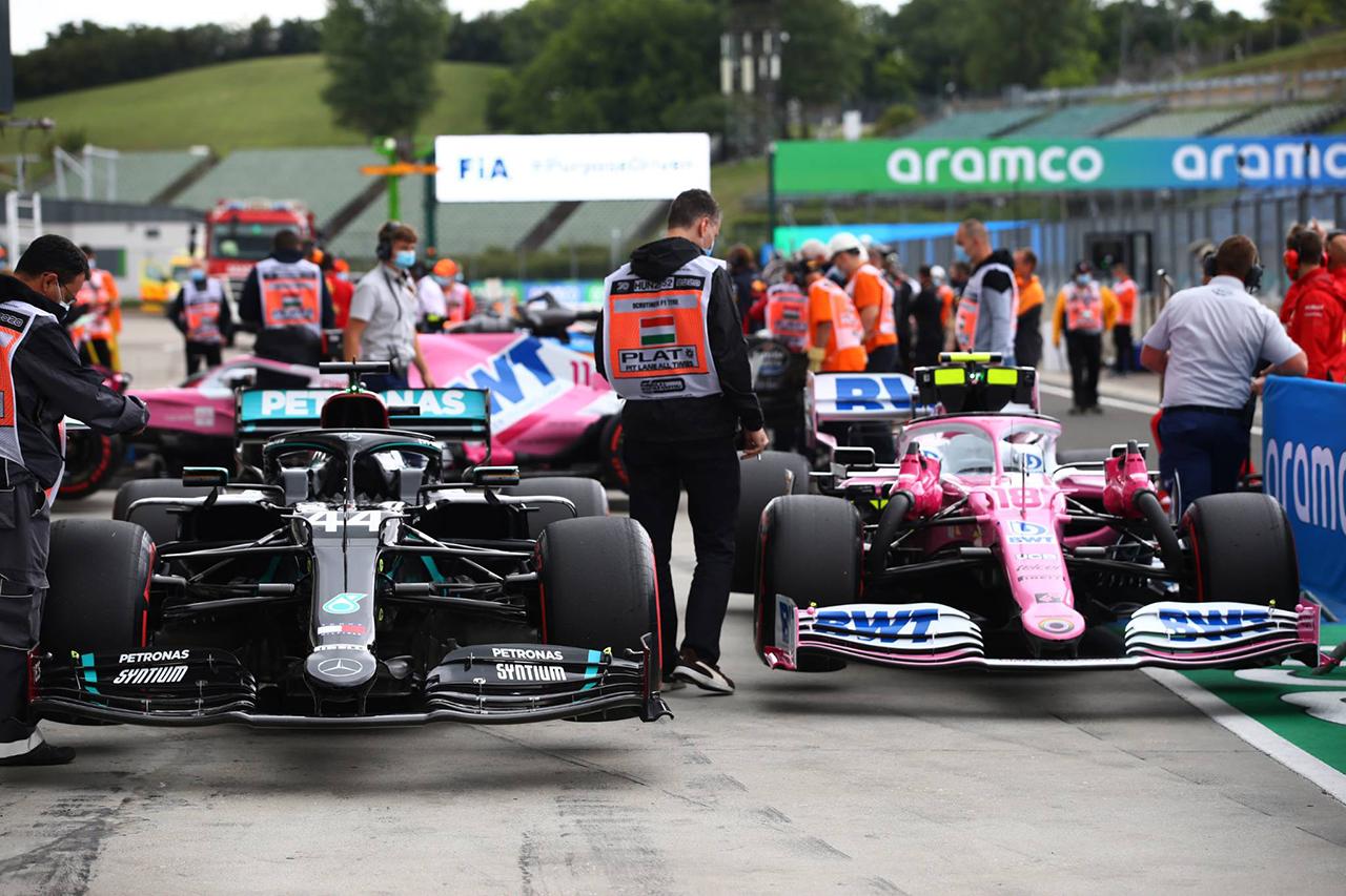 """F1:2021年に""""ピンクメルセデス""""型の模倣デザインの禁止に動く"""