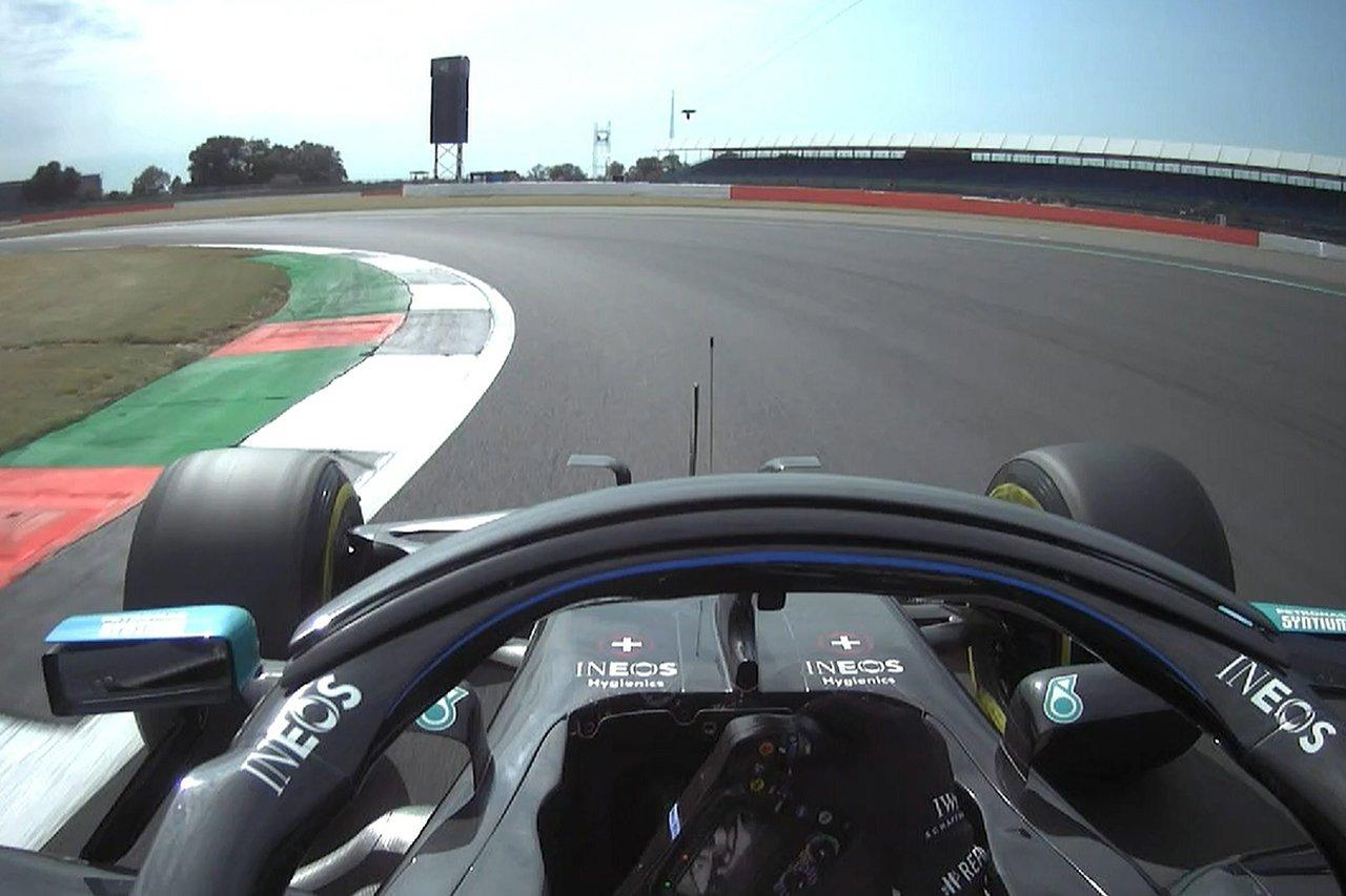 【動画】 バルテリ・ボッタスのポールラップ / F1 70周年記念GP 予選