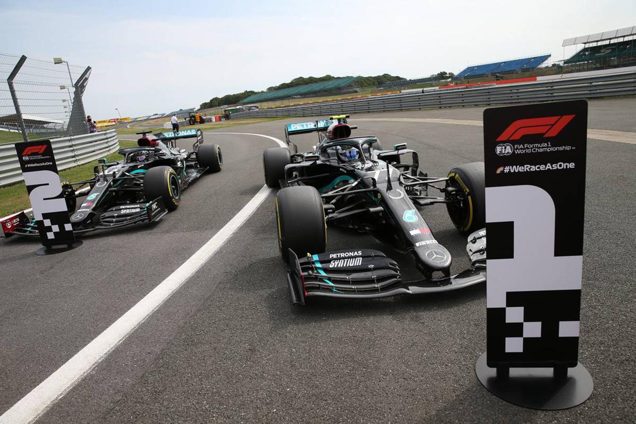 F1 70周年記念GP 決勝:暫定スターティンググリッド