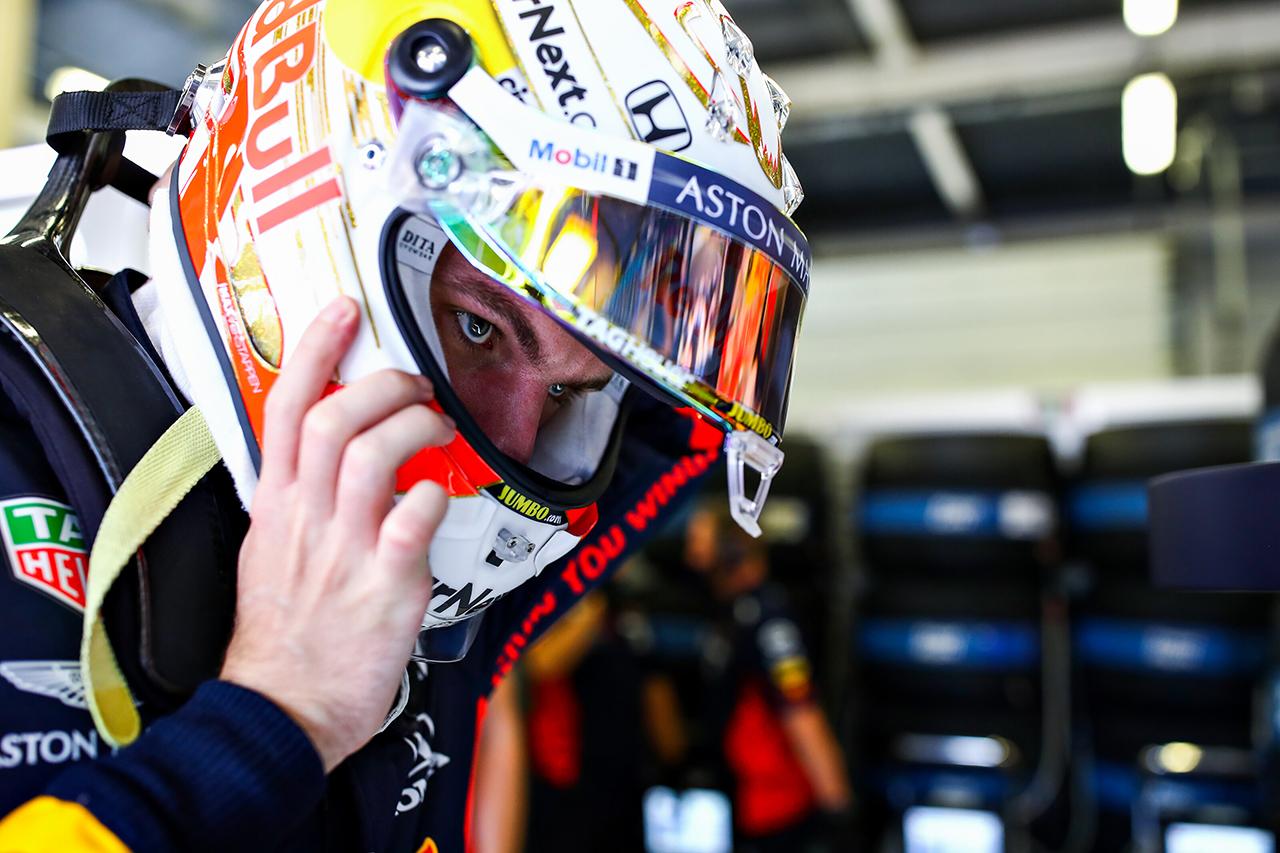 マックス・フェルスタッペン 「ハードでのスタートは強み。目標は表彰台」 / レッドブル・ホンダF1 70周年記念GP 予選