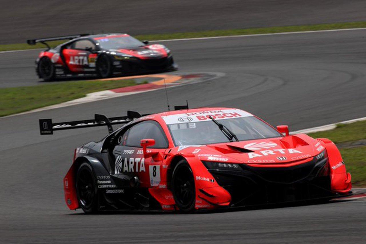 スーパーGT 第2戦 予選:ARTA NSX-GTが今季初ポールポジション!