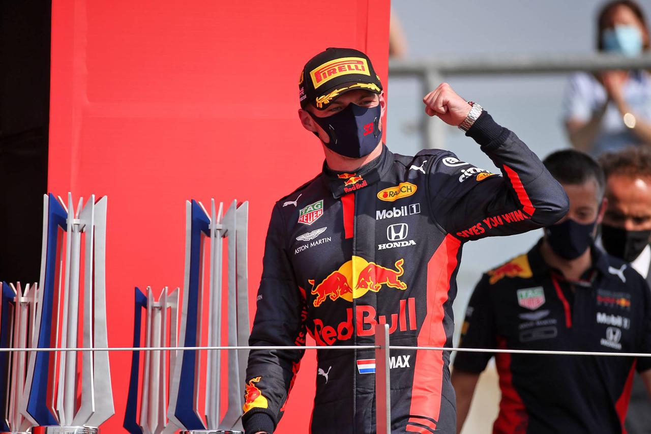 F1 70周年記念GP 結果:マックス・フェルスタッペンが今季初優勝!ホンダF1勢は3台が入賞!