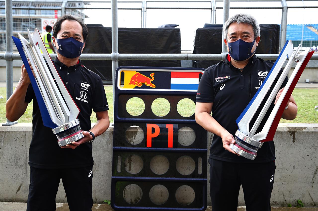 ホンダF1 田辺豊治TD 「PUを力強く機能させて勝利に貢献できた」 / F1 70周年記念GP 決勝