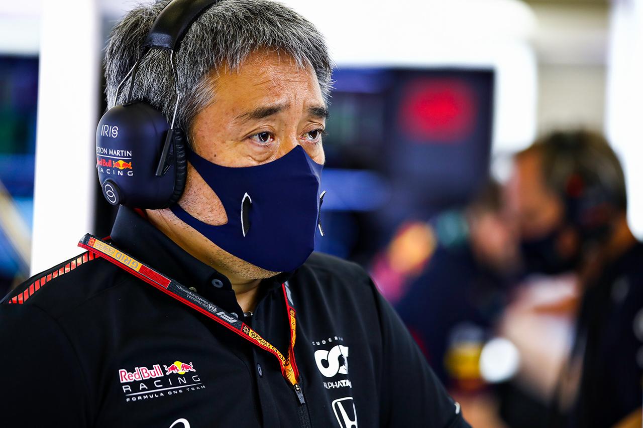 ホンダF1 山本雅史MD 「レッドブルのチーム力を感じたレースだった」 / F1 70周年記念GP レース後記者会見