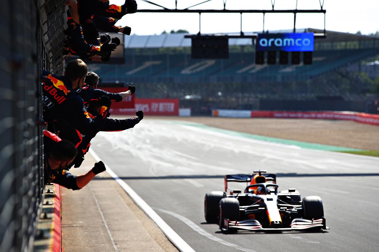 ホンダF1 田辺TD 「チーム力、ドライバー、PUが噛み合って掴んだ勝利」 / F1 70周年記念GP レース後記者会見