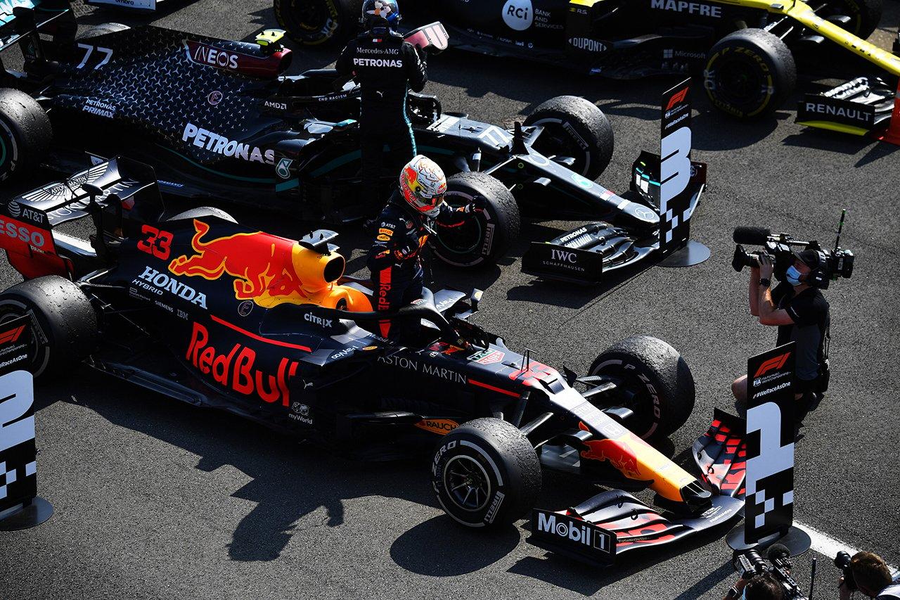 2020年 F1ポイントランキング:マックス・フェルスタッペンが2位に浮上