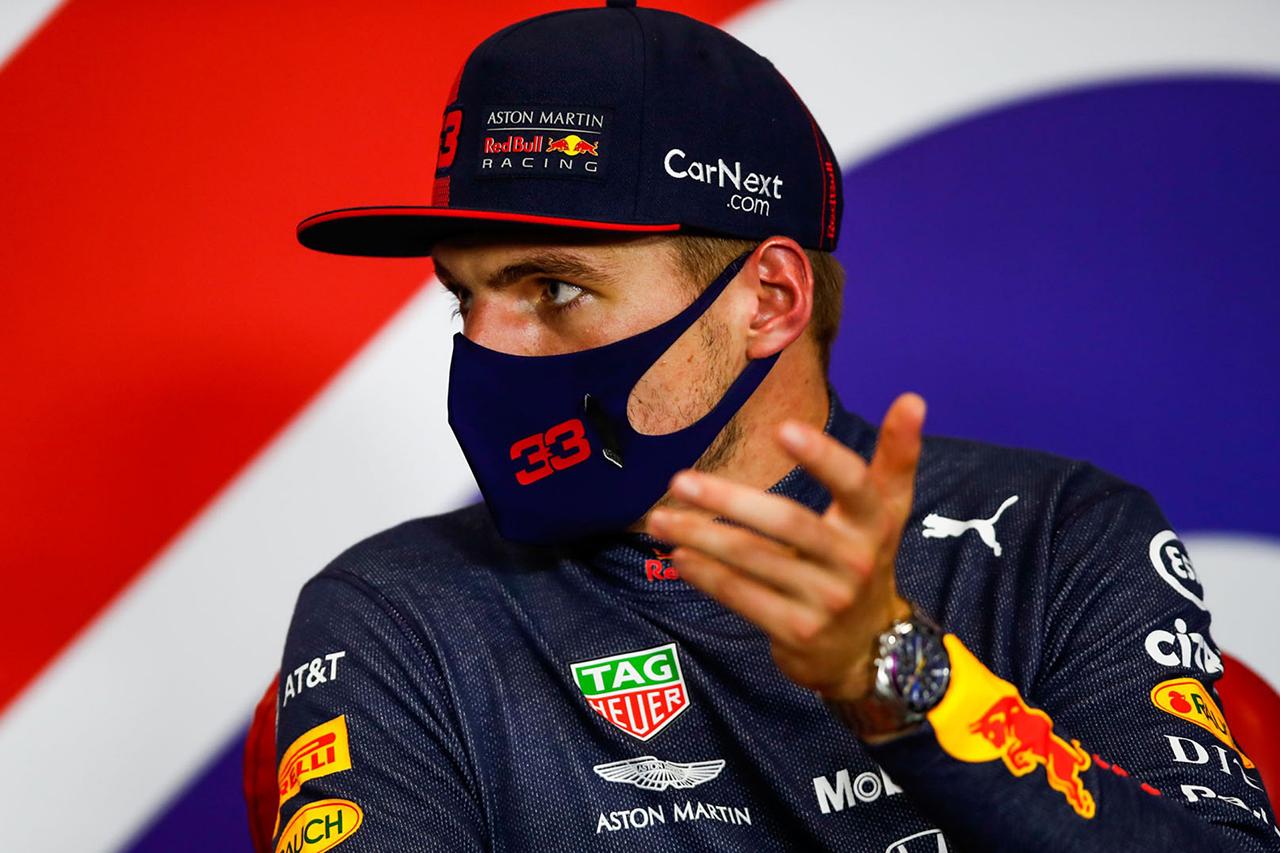 マックス・フェルスタッペン 「勝てて嬉しいけど、現実を見る必要もある」 / F1 70周年記念GP レース後記者会見