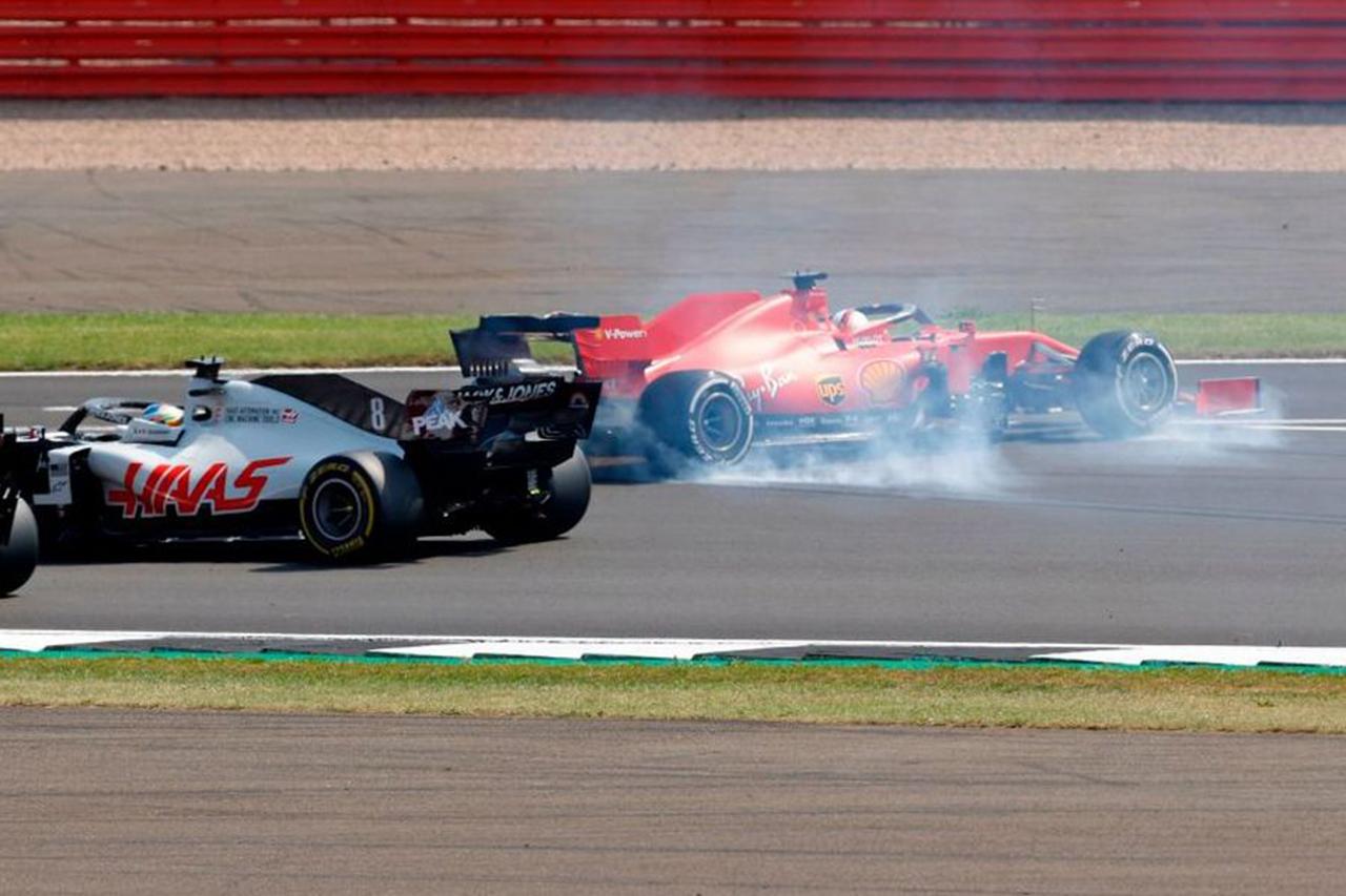 フェラーリF1代表 「ベッテルのレースの問題は戦略ではなくスピン」 / F1 70周年記念GP 決勝