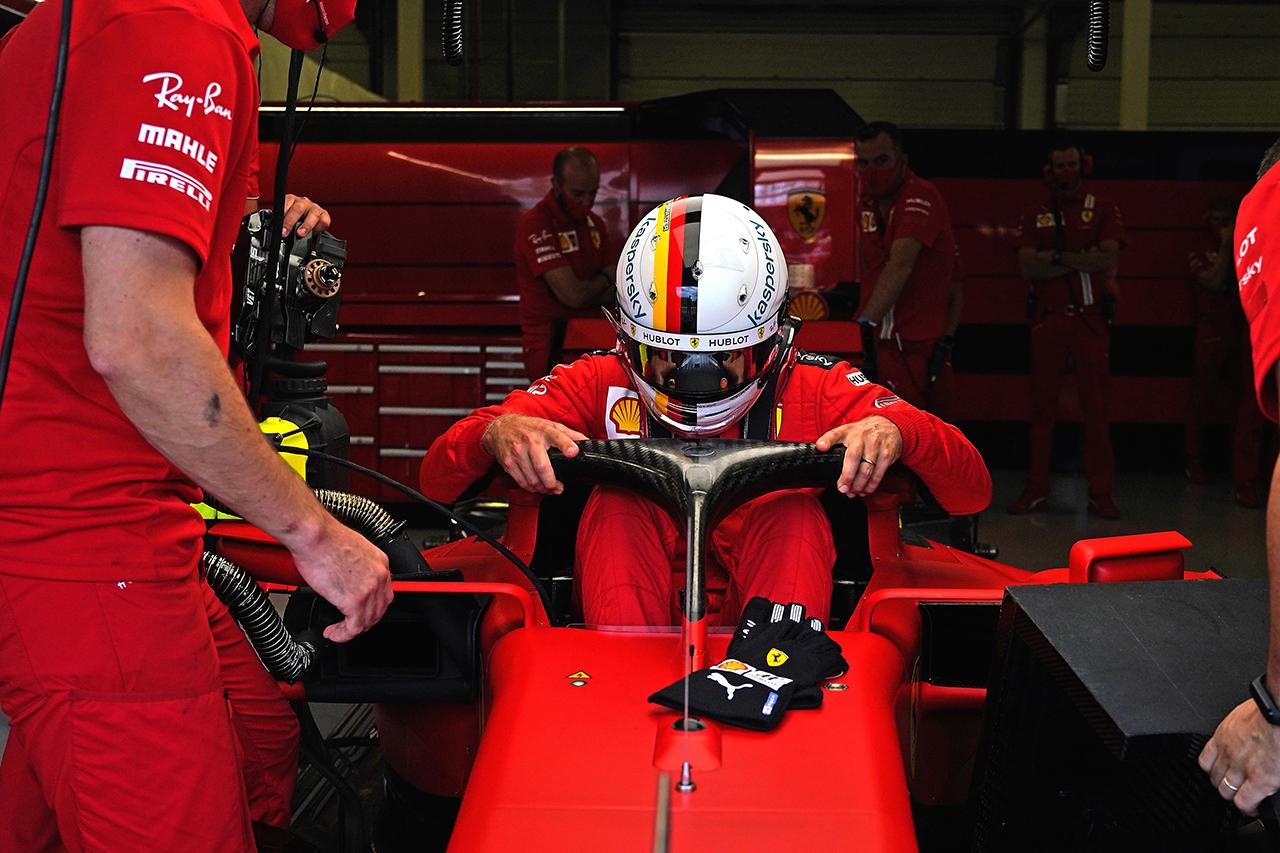 フェラーリF1、セバスチャン・ベッテルの新しいシャシー投入を確認 / F1スペインGP