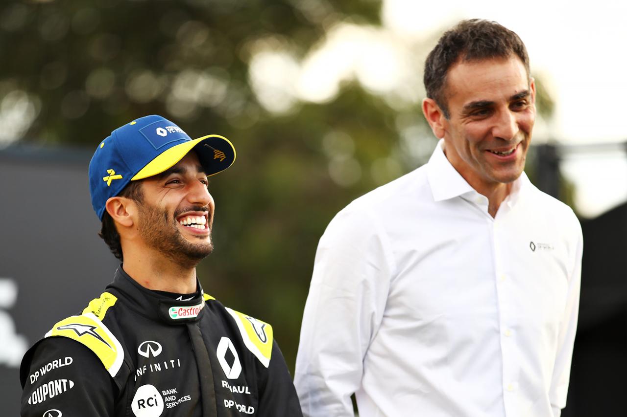 ダニエル・リカルド、表彰台獲得でルノーF1チーム代表にタトゥーの賭け