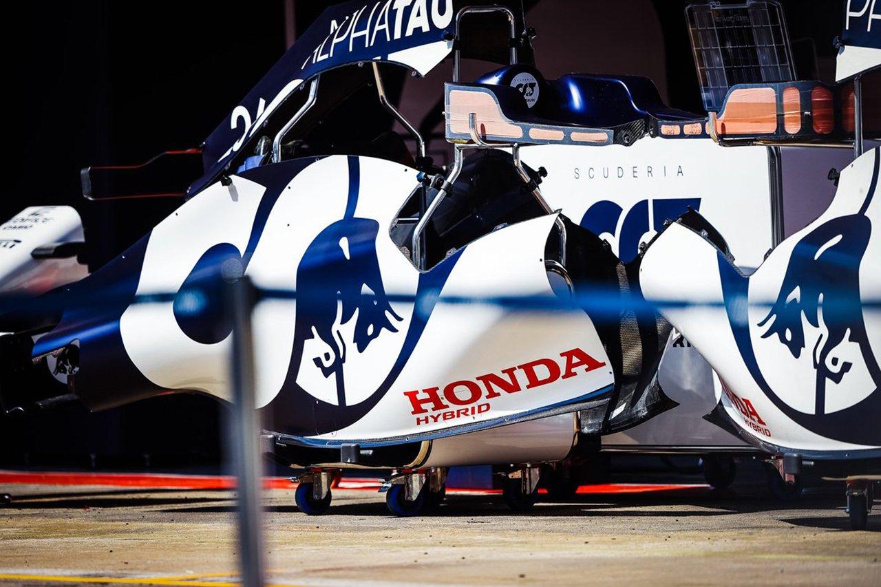 ホンダF1、アルファタウリの2台に2基目のPUを投入 / F1スペインGP