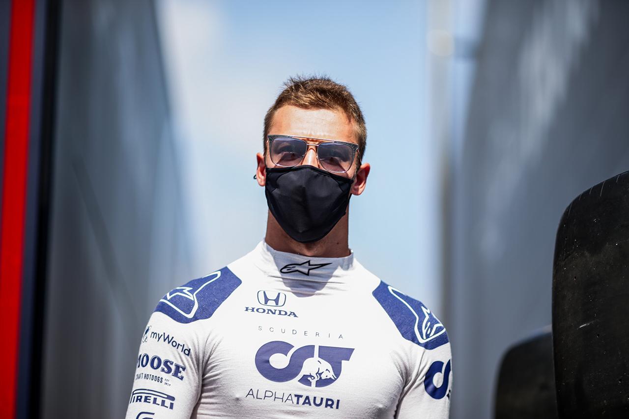 ダニール・クビアト 「新品タイヤを生かしてトップ10以内を狙いたい」 / アルファタウリ・ホンダ F1スペインGP 予選